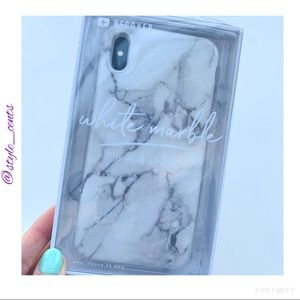 NWT iPhone XS Max Marbled Silicone Case